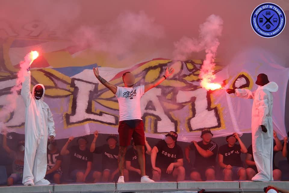 Nuotrauka iš paminėtų Wloclavia Włocławek ir Elana Toruń rungtynių | Jozin jest w trasie nuotr.